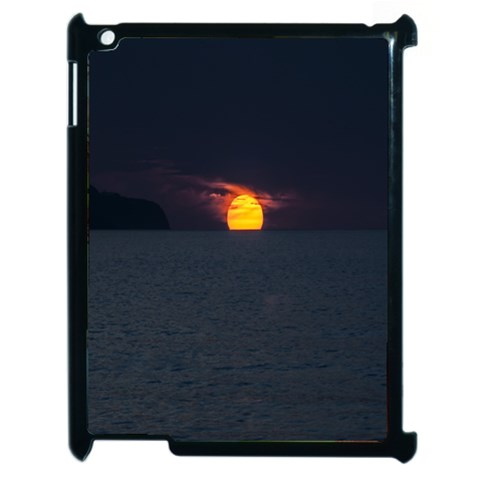 Sunset Ocean Azores Portugal Sol Apple iPad 2 Case (Black)