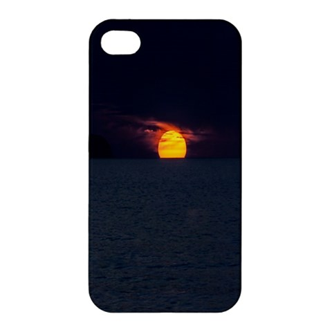 Sunset Ocean Azores Portugal Sol Apple iPhone 4/4S Hardshell Case