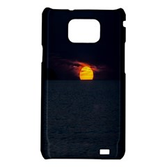 Sunset Ocean Azores Portugal Sol Samsung Galaxy S2 i9100 Hardshell Case