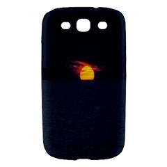 Sunset Ocean Azores Portugal Sol Samsung Galaxy S III Hardshell Case