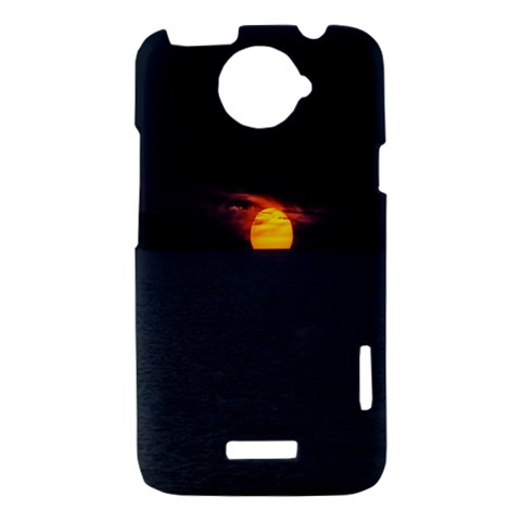 Sunset Ocean Azores Portugal Sol HTC One X Hardshell Case