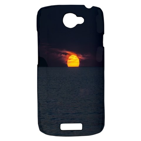 Sunset Ocean Azores Portugal Sol HTC One S Hardshell Case