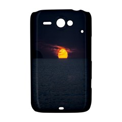 Sunset Ocean Azores Portugal Sol HTC ChaCha / HTC Status Hardshell Case
