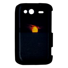 Sunset Ocean Azores Portugal Sol HTC Wildfire S A510e Hardshell Case