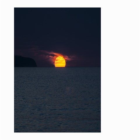 Sunset Ocean Azores Portugal Sol Small Garden Flag (Two Sides)