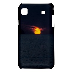 Sunset Ocean Azores Portugal Sol Samsung Galaxy S i9008 Hardshell Case