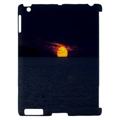 Sunset Ocean Azores Portugal Sol Apple iPad 2 Hardshell Case (Compatible with Smart Cover)