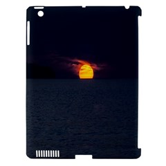 Sunset Ocean Azores Portugal Sol Apple iPad 3/4 Hardshell Case (Compatible with Smart Cover)