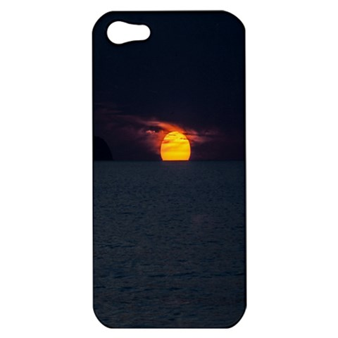Sunset Ocean Azores Portugal Sol Apple iPhone 5 Hardshell Case