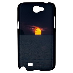 Sunset Ocean Azores Portugal Sol Samsung Galaxy Note 2 Hardshell Case