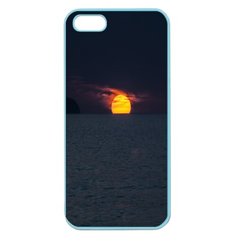 Sunset Ocean Azores Portugal Sol Apple Seamless iPhone 5 Case (Color)