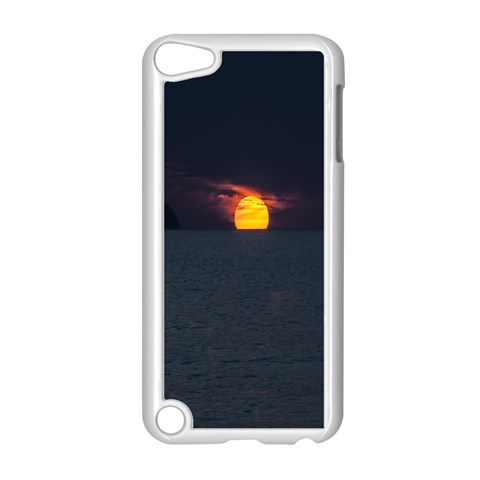 Sunset Ocean Azores Portugal Sol Apple iPod Touch 5 Case (White)