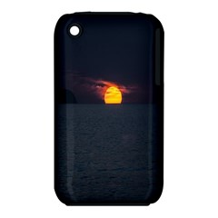 Sunset Ocean Azores Portugal Sol Apple iPhone 3G/3GS Hardshell Case (PC+Silicone)
