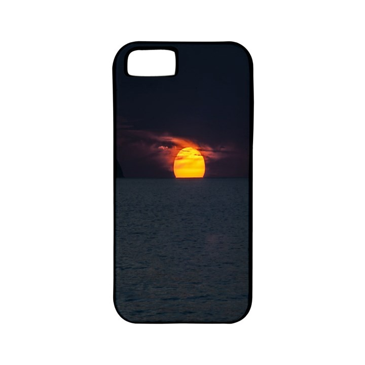 Sunset Ocean Azores Portugal Sol Apple iPhone 5 Classic Hardshell Case (PC+Silicone)