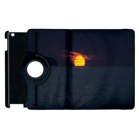 Sunset Ocean Azores Portugal Sol Apple iPad 2 Flip 360 Case