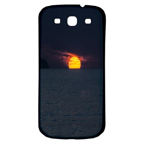 Sunset Ocean Azores Portugal Sol Samsung Galaxy S3 S III Classic Hardshell Back Case