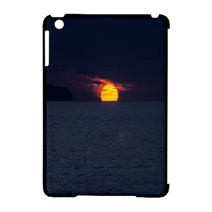 Sunset Ocean Azores Portugal Sol Apple iPad Mini Hardshell Case (Compatible with Smart Cover)