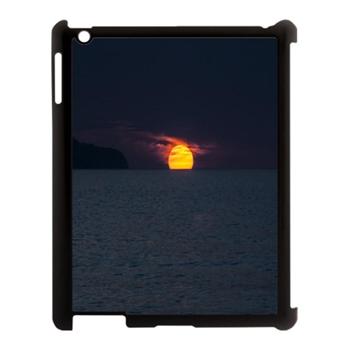 Sunset Ocean Azores Portugal Sol Apple iPad 3/4 Case (Black)
