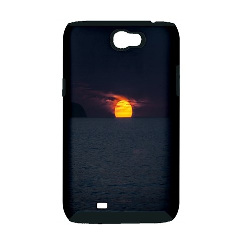 Sunset Ocean Azores Portugal Sol Samsung Galaxy Note 2 Hardshell Case (PC+Silicone)