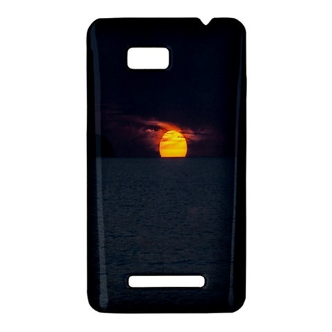Sunset Ocean Azores Portugal Sol HTC One SU T528W Hardshell Case