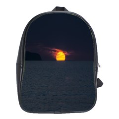 Sunset Ocean Azores Portugal Sol School Bags (XL)