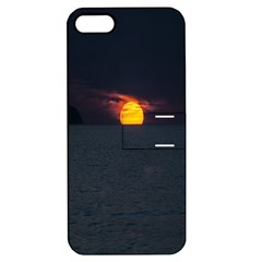 Sunset Ocean Azores Portugal Sol Apple iPhone 5 Hardshell Case with Stand