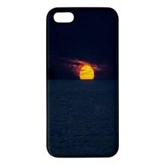 Sunset Ocean Azores Portugal Sol Apple iPhone 5 Premium Hardshell Case