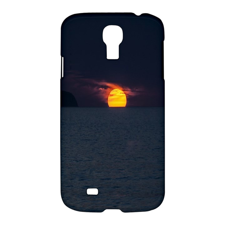 Sunset Ocean Azores Portugal Sol Samsung Galaxy S4 I9500/I9505 Hardshell Case