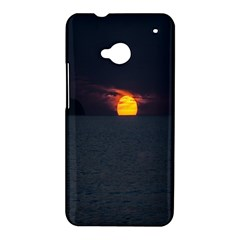 Sunset Ocean Azores Portugal Sol HTC One M7 Hardshell Case