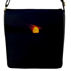 Sunset Ocean Azores Portugal Sol Flap Messenger Bag (S)