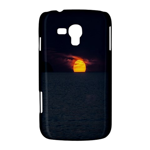 Sunset Ocean Azores Portugal Sol Samsung Galaxy Duos I8262 Hardshell Case
