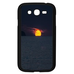 Sunset Ocean Azores Portugal Sol Samsung Galaxy Grand DUOS I9082 Case (Black)