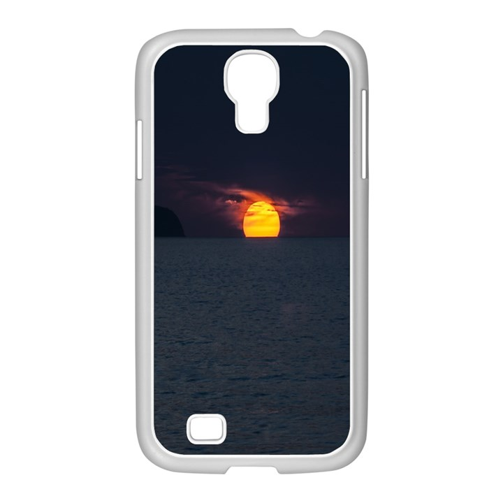 Sunset Ocean Azores Portugal Sol Samsung GALAXY S4 I9500/ I9505 Case (White)