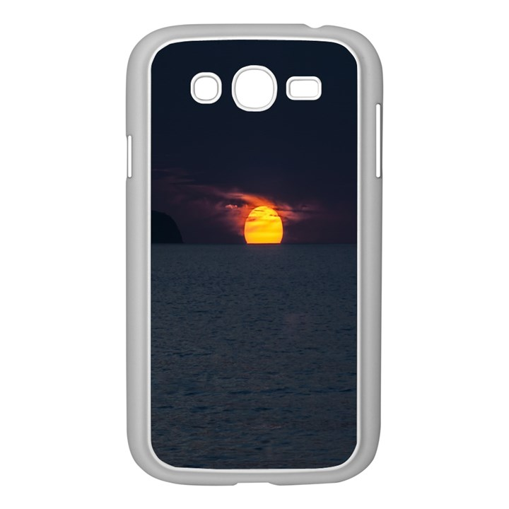 Sunset Ocean Azores Portugal Sol Samsung Galaxy Grand DUOS I9082 Case (White)