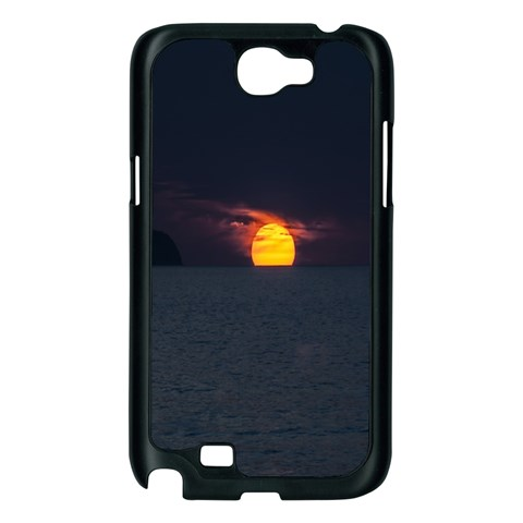 Sunset Ocean Azores Portugal Sol Samsung Galaxy Note 2 Case (Black)