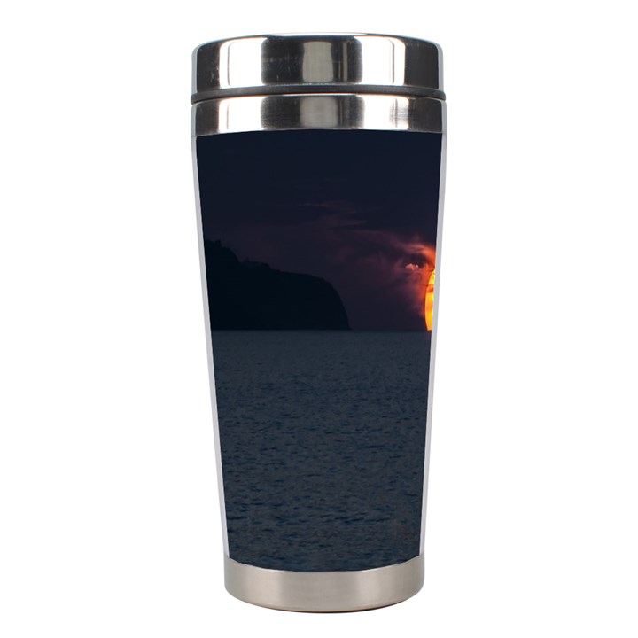 Sunset Ocean Azores Portugal Sol Stainless Steel Travel Tumblers