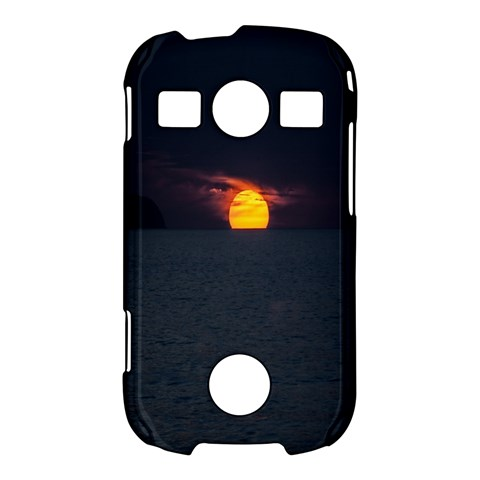 Sunset Ocean Azores Portugal Sol Samsung Galaxy S7710 Xcover 2 Hardshell Case