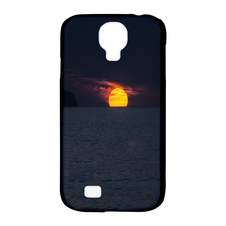 Sunset Ocean Azores Portugal Sol Samsung Galaxy S4 Classic Hardshell Case (PC+Silicone)