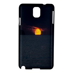 Sunset Ocean Azores Portugal Sol Samsung Galaxy Note 3 N9005 Hardshell Case