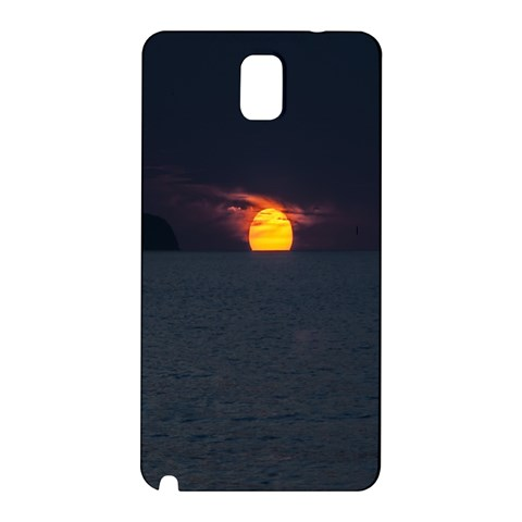 Sunset Ocean Azores Portugal Sol Samsung Galaxy Note 3 N9005 Hardshell Back Case