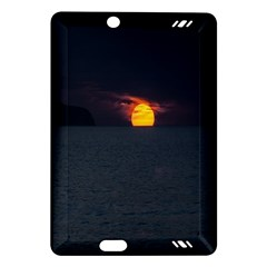 Sunset Ocean Azores Portugal Sol Amazon Kindle Fire HD (2013) Hardshell Case