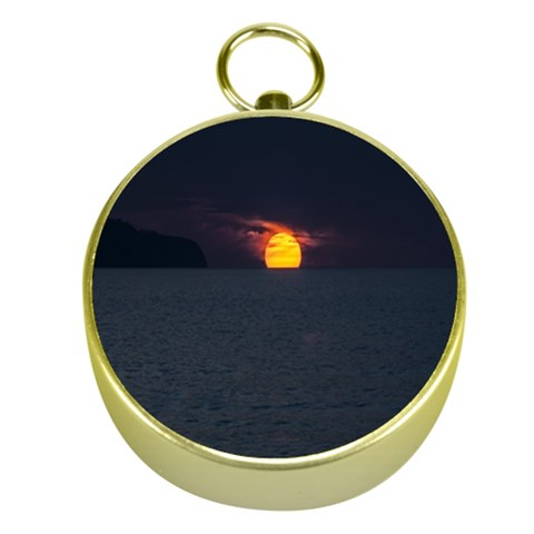 Sunset Ocean Azores Portugal Sol Gold Compasses
