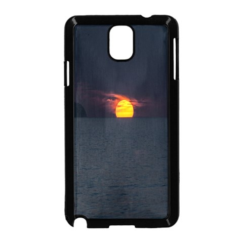 Sunset Ocean Azores Portugal Sol Samsung Galaxy Note 3 Neo Hardshell Case (Black)