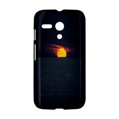 Sunset Ocean Azores Portugal Sol Motorola Moto G