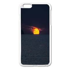 Sunset Ocean Azores Portugal Sol Apple iPhone 6 Plus/6S Plus Enamel White Case