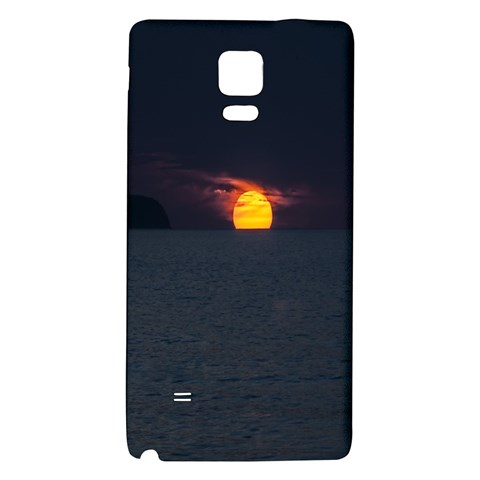 Sunset Ocean Azores Portugal Sol Galaxy Note 4 Back Case