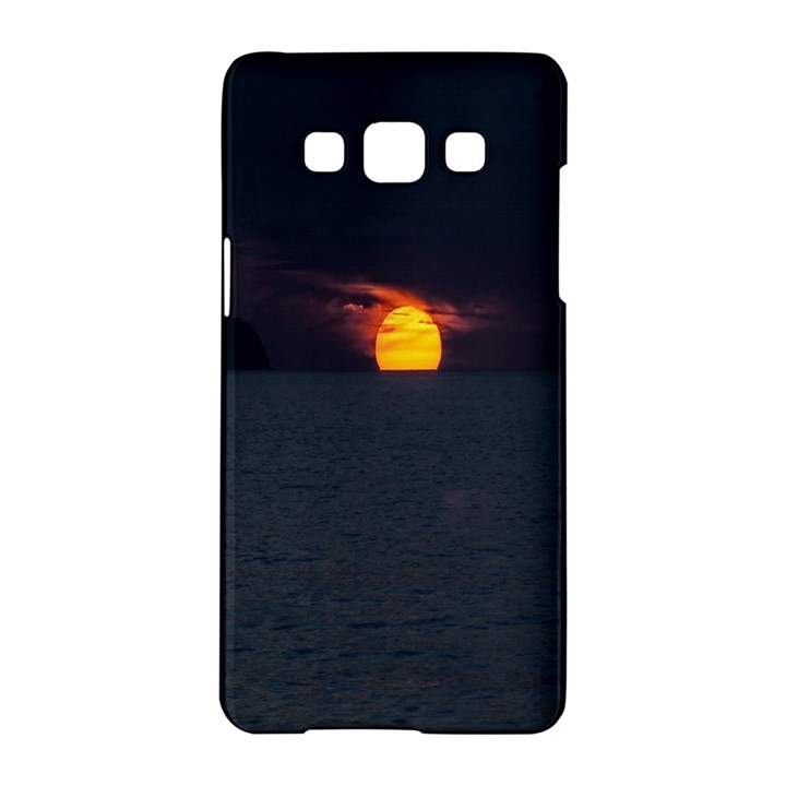 Sunset Ocean Azores Portugal Sol Samsung Galaxy A5 Hardshell Case