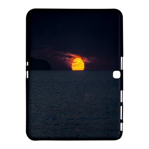 Sunset Ocean Azores Portugal Sol Samsung Galaxy Tab 4 (10.1 ) Hardshell Case