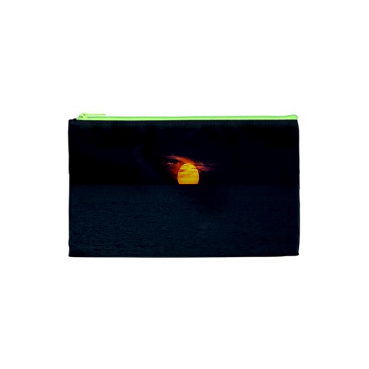 Sunset Ocean Azores Portugal Sol Cosmetic Bag (XS)
