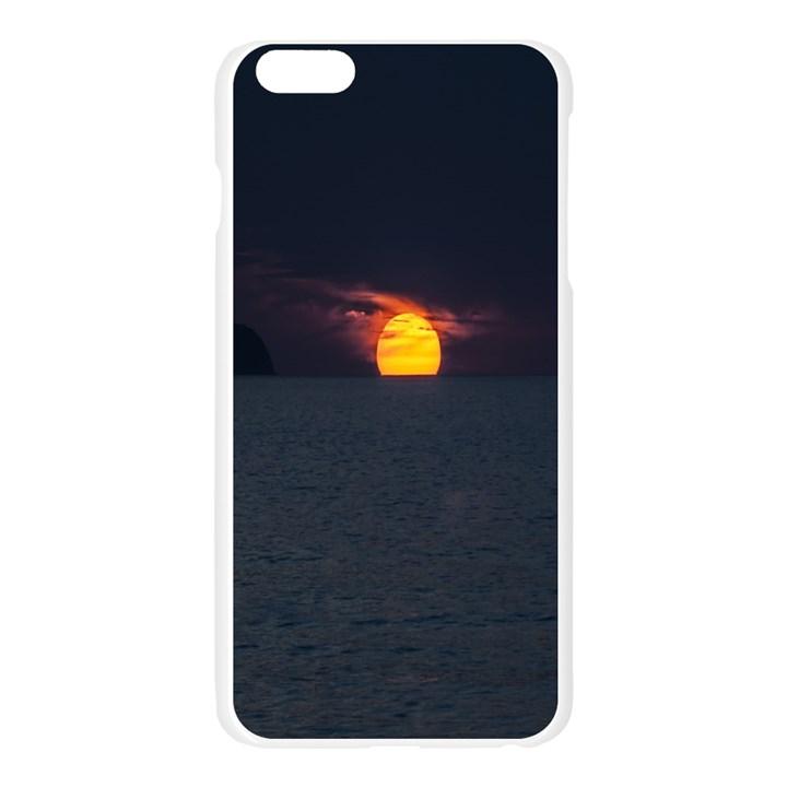 Sunset Ocean Azores Portugal Sol Apple Seamless iPhone 6 Plus/6S Plus Case (Transparent)
